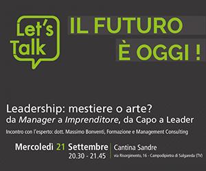Let's Talk – Il futuro è oggi!